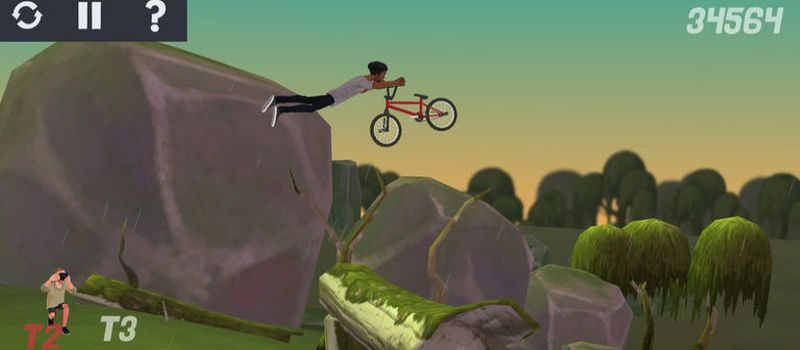pumped bmx 3 high score