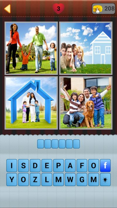 the new 4 pic 1 word answers