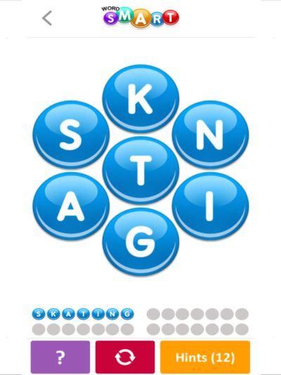 word smart brain game answers