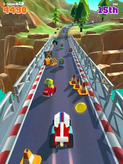 blocky racers high score