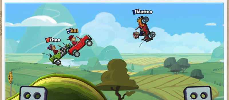 hill climb racing 2 how to get a high score