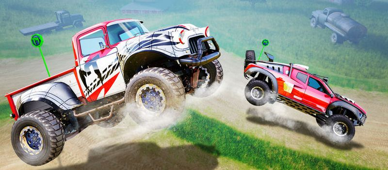 monster trucks racing cheats