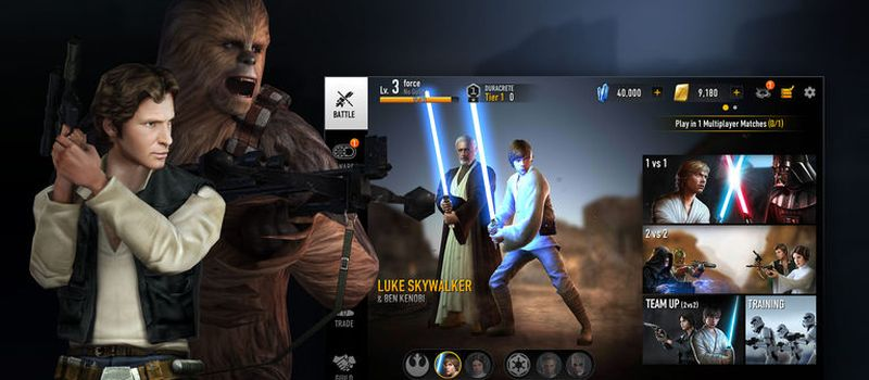 how to unlock all leaders in star wars force arena