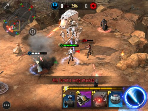 star wars force arena deck building tips