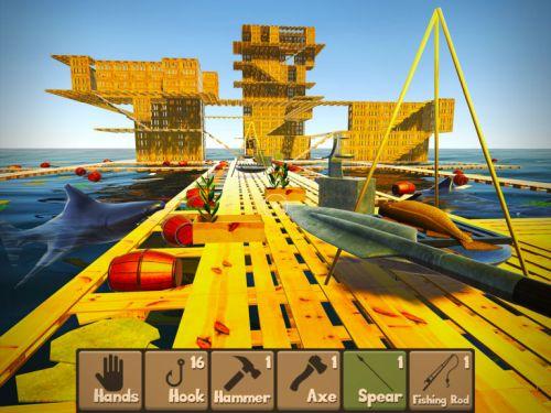 raft survival simulator tips