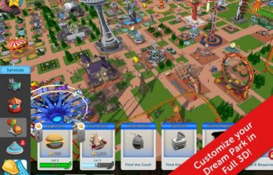 rollercoaster tycoon touch tips