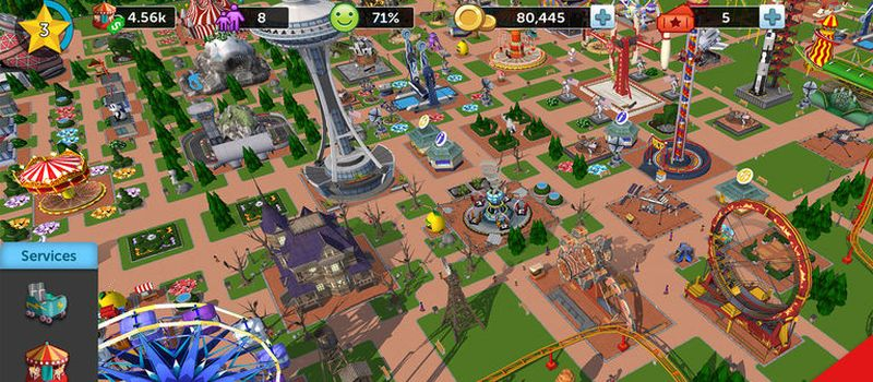 rollercoaster tycoon touch tricks
