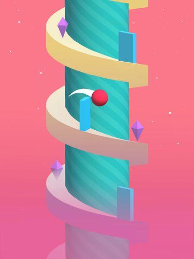 spiral high score
