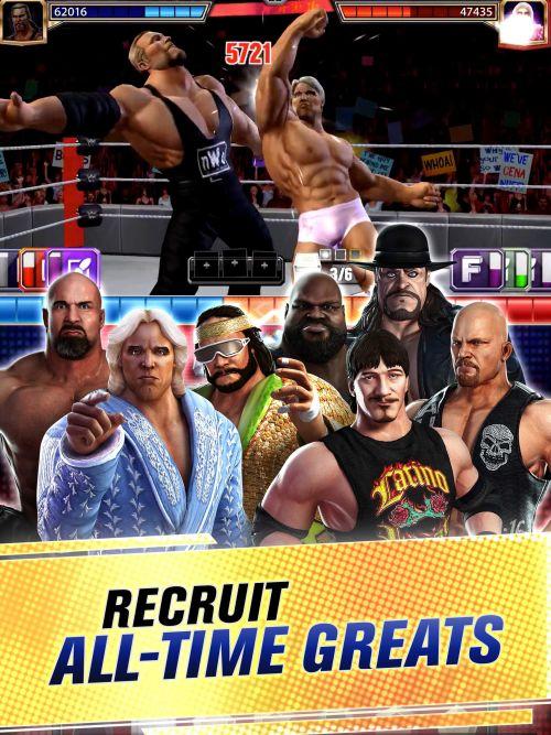 wwe champions recruitment