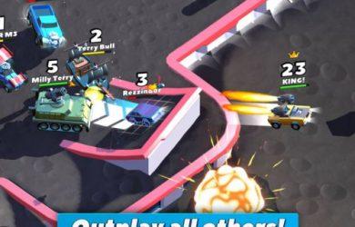 crash of cars power-ups