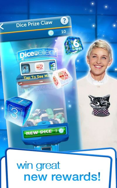 how to earn more rewards in dice with ellen