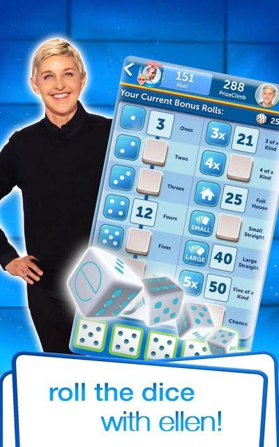 dice with ellen tricks