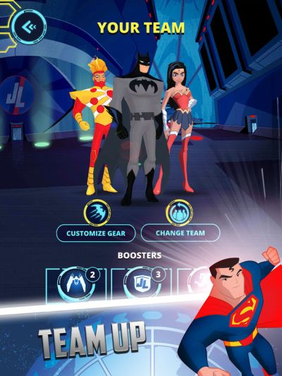 justice league action run tips