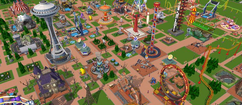 rollercoaster tycoon touch hints