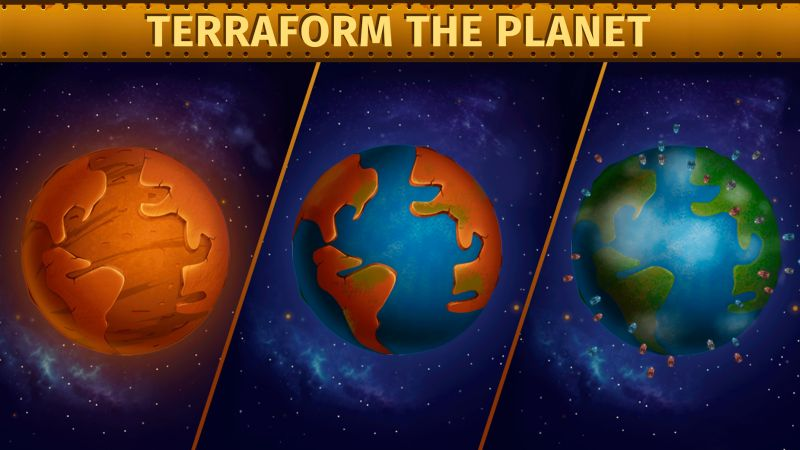 how to terraform planets in deep town