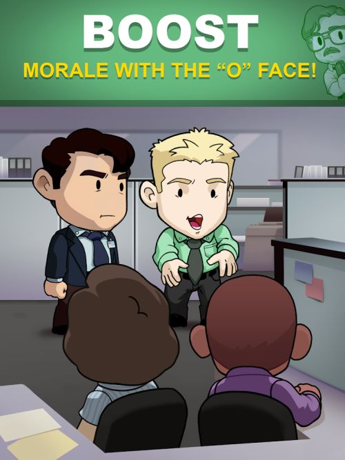 how to boost morale in office space: idle profits