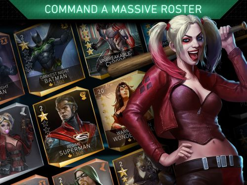 injustice 2 gold characters