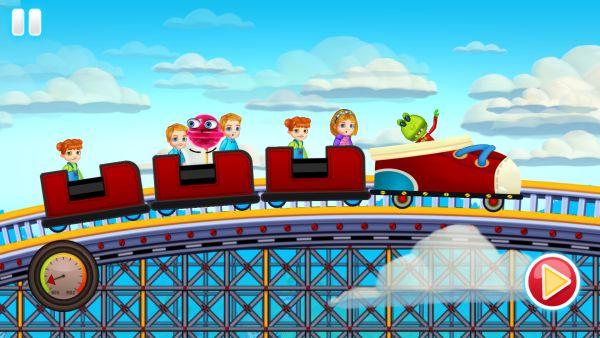 fun kid racing rollercoaster cheats