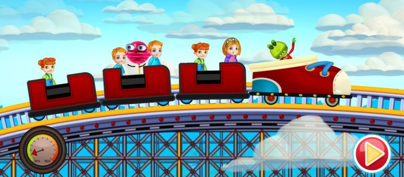 fun kid racing rollercoaster guide