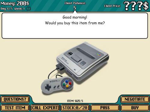 vintage game shop ios
