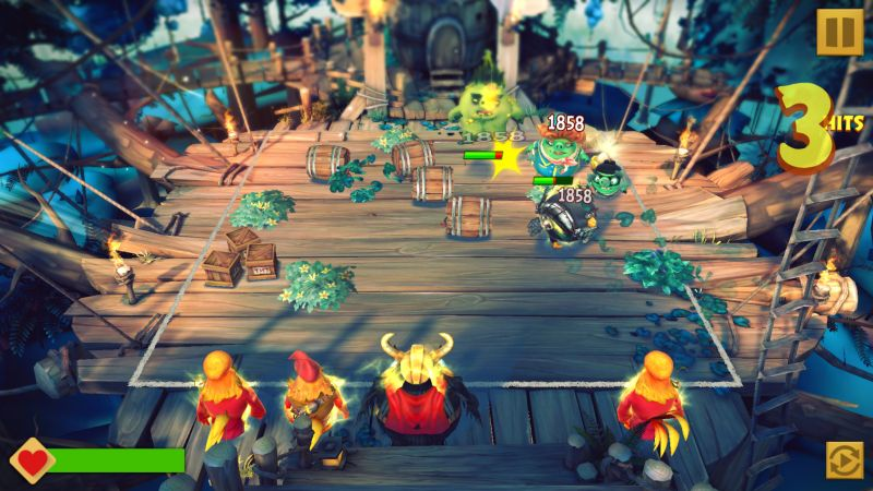 angry birds evolution arena forest