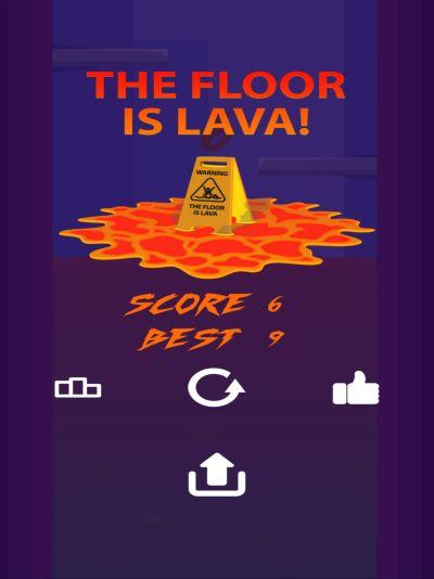 floor lava is challenge cheats
