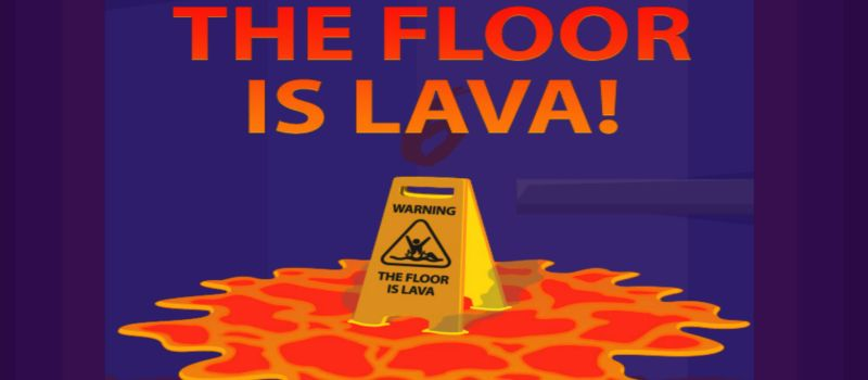floor is lava challenge high score