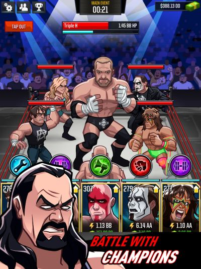wwe tap mania guide