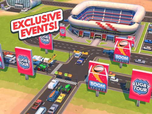 traffic panic boom town cheats