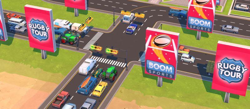 traffic panic boom town hints