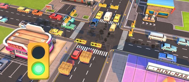 traffic panic boom town tips