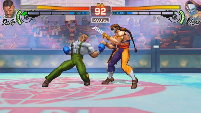 street fighter 4 champion edition combo gauge