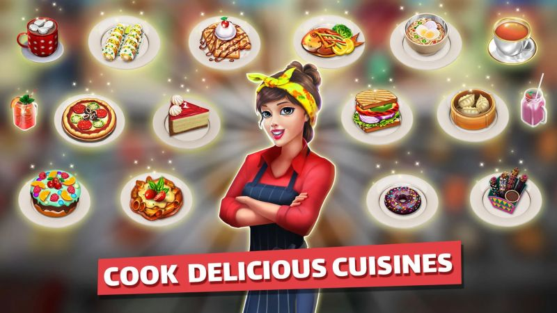 delicious cuisine food truck chef