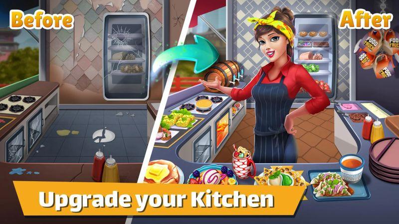 kitchen upgrade food truck chef