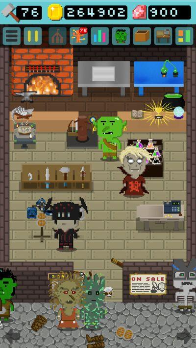 goblin's shop cheats