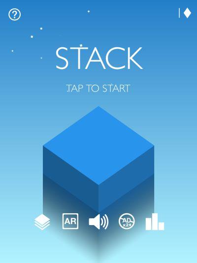 stack ar high score