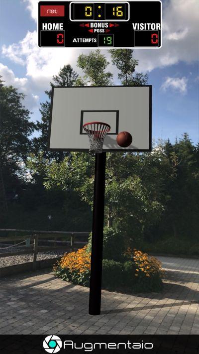 ar basketball high score