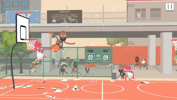 how to get a high score in dunkers 2
