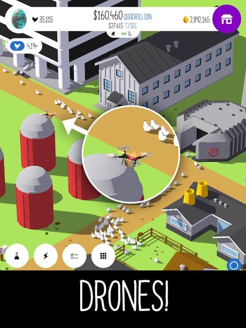 egg inc drones