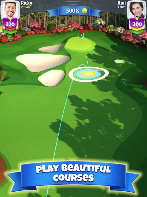 golf clash courses