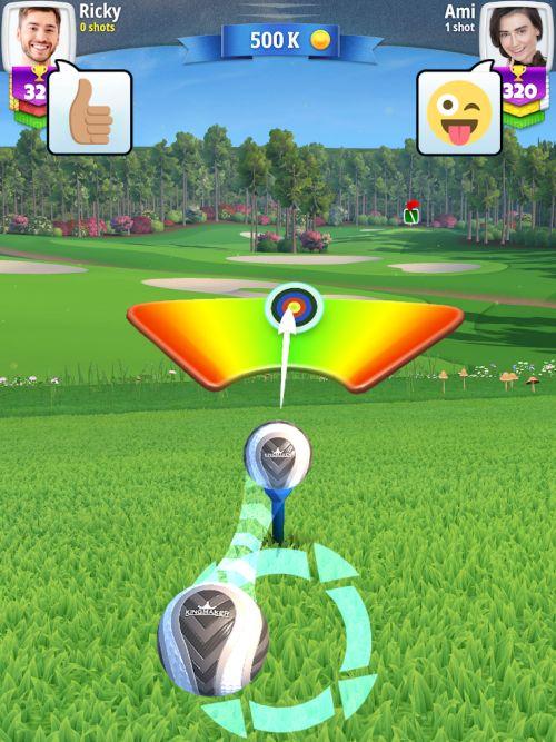 golf clash strategies