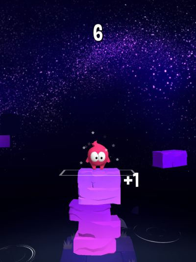 stack jump high score