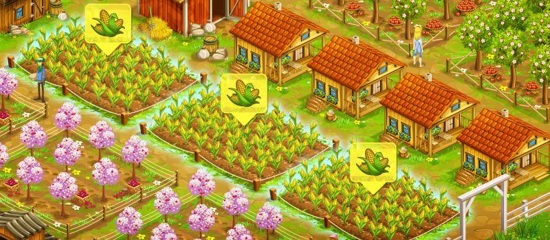 big farm mobile harvest tips