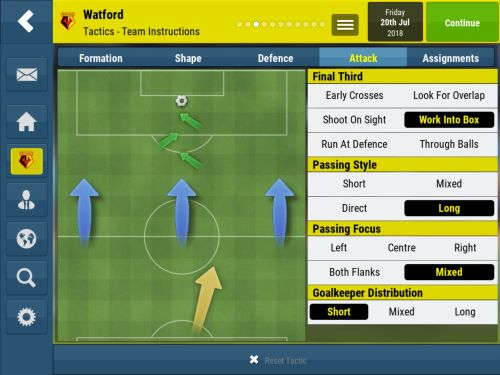 football manager mobile 2018 strategies