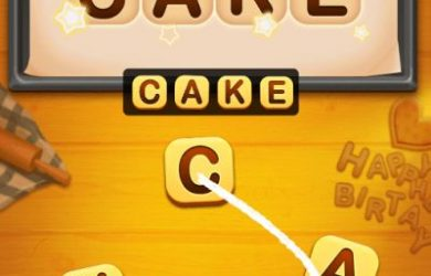 word cakes answers