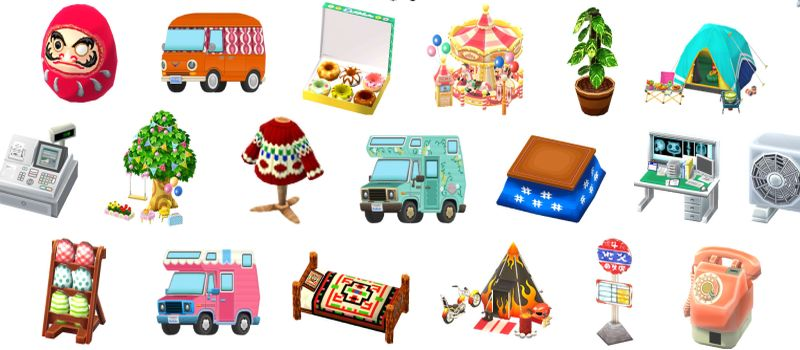 animal crossing pocket camp inventory management