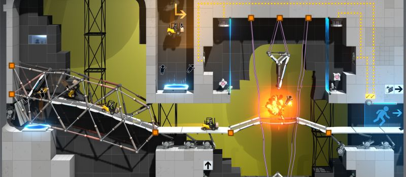 bridge constructor portal tips