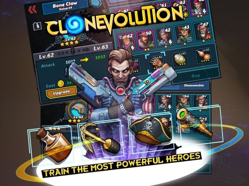 clone evolution cheats