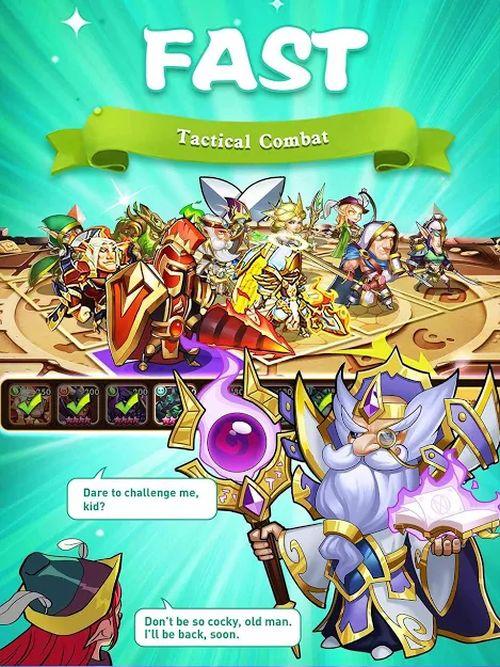 idle heroes tactics