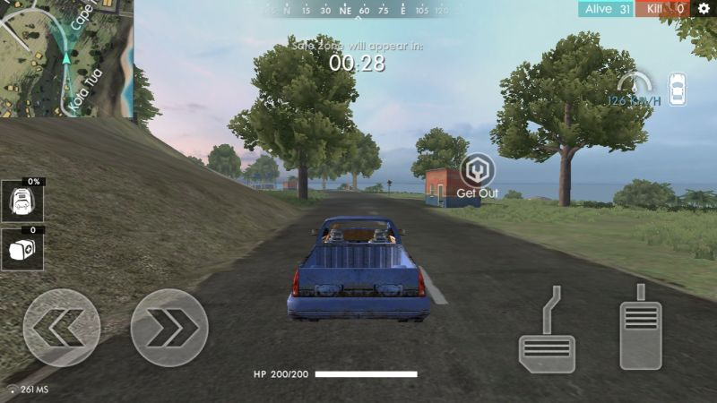 garena free fire vehicles